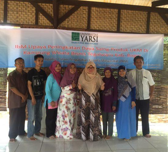 Pengabdian Kepada Masyarakat Universitas Yarsi Untuk Desa Tegalwaru