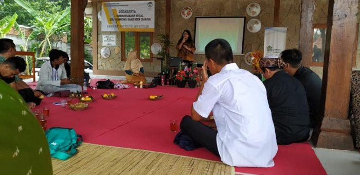 Lokakarya Dinas Pariwisata Cianjur